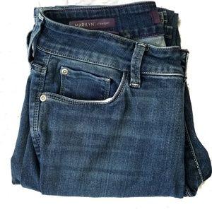 NYDJ Marilyn Straight leg, Stretch Jeans